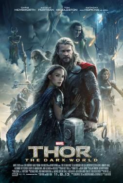 Тор 2: Царство тьмы. Постер