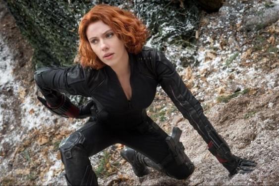 """""""Мстители: Эра Альтрона"""", кадр из фильма. Чёрная вдова"""