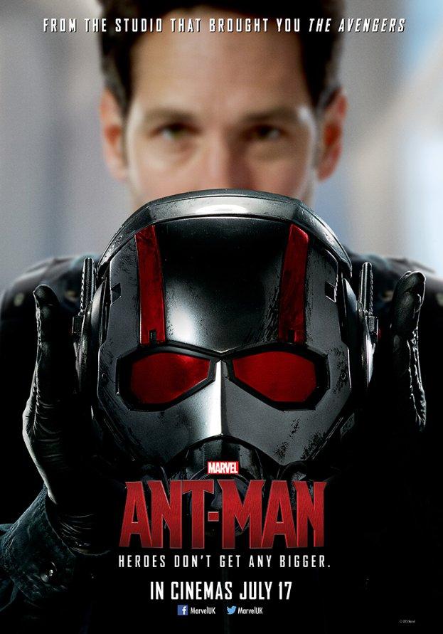 Человек-муравей, постер
